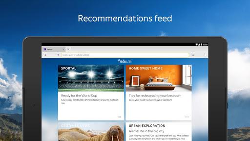 Yandex Browser (alpha) modavailable screenshots 11
