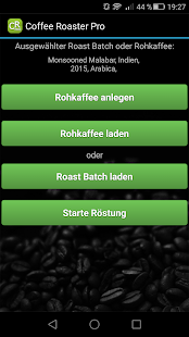 Coffee Roaster Pro Screenshot