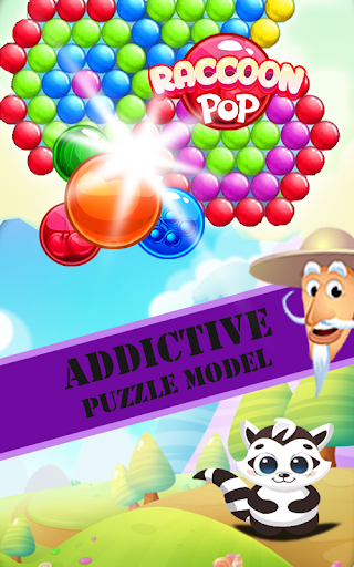 Raccoon Pop - Bubble Shooter Fun Game For PC Windows (7, 8, 10, 10X) & Mac Computer Image Number- 6