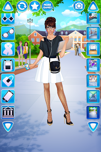 College Student Girl Dress Up android2mod screenshots 5
