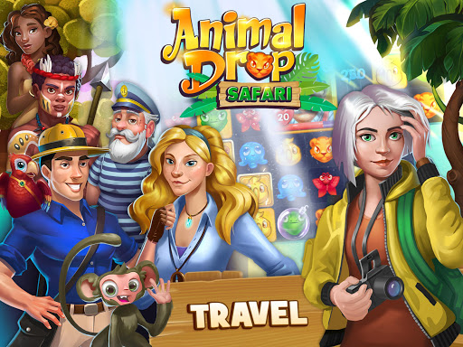 Animal Drop u2013 Free Match 3 Puzzle Game modavailable screenshots 7