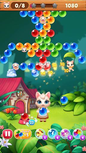 Bubble Shooter Cats POP : Puzzle Mania 1.1.3 screenshots 7