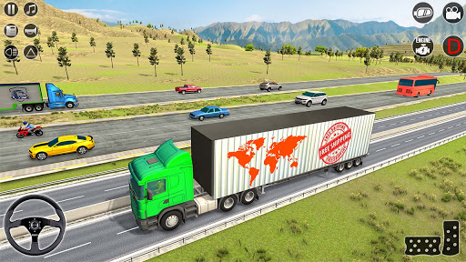 American truck driver simulator: USA Euro Truck Apkfinish screenshots 12