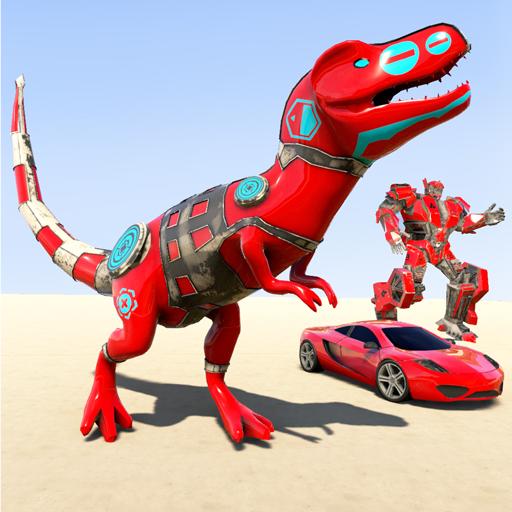Dino Robot Car Game: Ultimate Dinosaur Robot Games