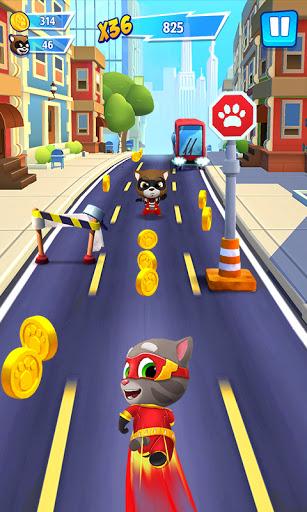 Talking Tom Hero Dash - Run Game 2.1.1.1235 screenshots 2