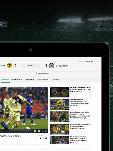 TUDN: Univision Deportes Network 12.2.4 Screenshots 10