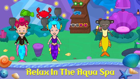 My Tizi Town - Underwater Mermaid Games for Kids 1.0 Screenshots 19