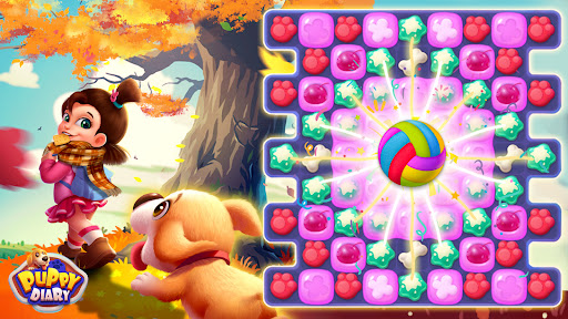 Puppy Diary: Popular Epic match 3 Casual Game 2021 1.0.7 screenshots 14