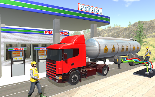 Oil Tanker Truck Driver 3D - Free Truck Games 2020 2.2.1 screenshots 4
