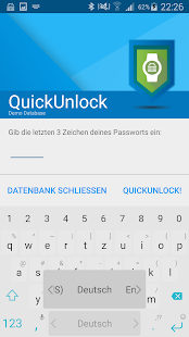 Keepass2Android Password Safe Screenshot