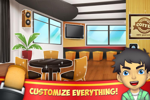 My Coffee Shop - Coffeehouse Management Game 1.0.56 screenshots 2