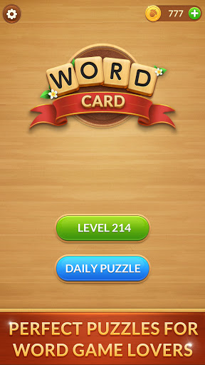 Word Card: Fun Collect Game screenshots 1