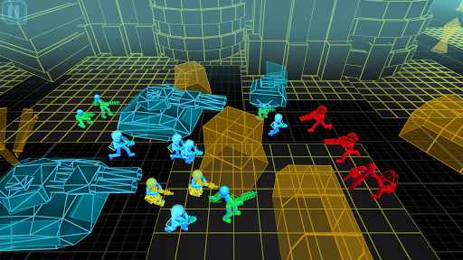 stickman simulator: neon tank warriors screenshot 3