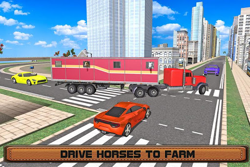 Horse Stunts Transporter Truck  screenshots 2