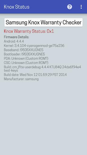 KNOX Status Samsung For PC Windows (7, 8, 10, 10X) & Mac Computer Image Number- 8