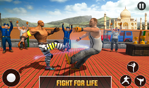Grand Ring Battle: Fight Prisoner Karate Fighting apktram screenshots 3