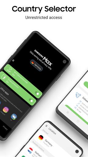 Samsung Max - Data Savings & Privacy Protection 4.2.67 screenshots 1