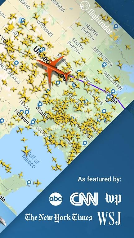 Flightradar24 Flight Tracker poster 1