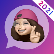 Stickers for WhatsApp - 3D emoji, sticker maker