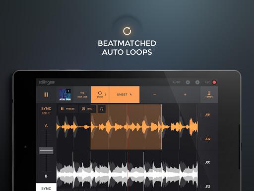 edjing PRO LE - Music DJ mixer  Screenshots 7