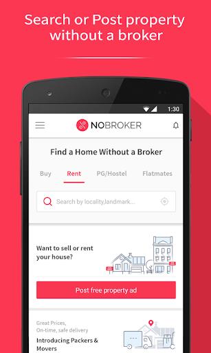 NoBroker Flat, Apartment, House, Rent, Buy & Sell 6.8.234 screenshots 1