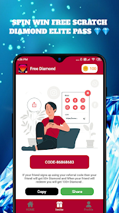 Diamond : Fire Max Elite Pass Apkfinish screenshots 3