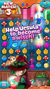 The Apprentice Witch - Puzzle Match 3 Game