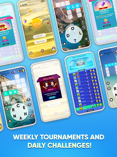 WordRise - Live Word Scramble Tournaments screenshots 10