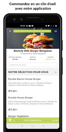 Beverly Hills Burger Bungalow screenshot 1