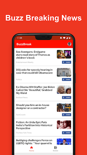 BuzzBreak - Read, Funny Videos & Earn Free Cash!  screenshots 1