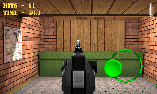 Pistol shooting at the target.  Weapon simulator 4.5 screenshots 8