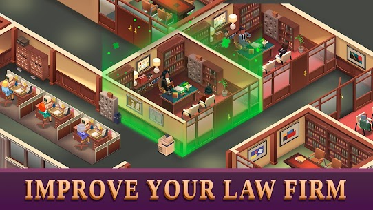 Law Empire Tycoon Mod Apk- Idle Game Justice Simulator (Unlimited Money) 2