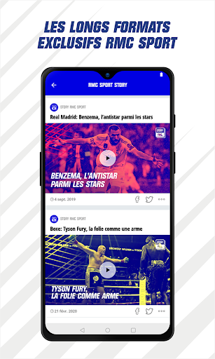 RMC Sport News - Actu Foot et Sports en direct 5.0.2 Screenshots 6