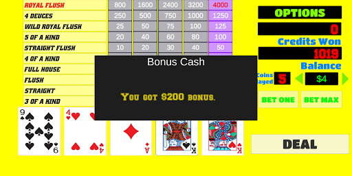 Deuces Wild - Video Poker 1.9 screenshots 7