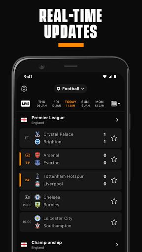 LiveScore: Live Sports Scores 4.3 Screenshots 1