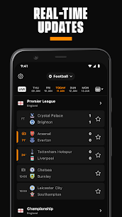 LiveScore: Live Sports Scores 4.3 MOD APK [UNLOCKED] 1