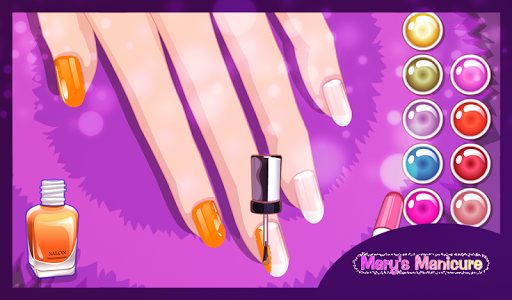 mary's manicure - nail game screenshot 3