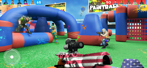 Paintball Shooting Games 3D apkpoly screenshots 9