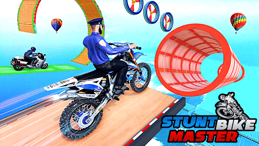 Police Bike Stunt Games: Mega Ramp Stunts Game 1.1.0 screenshots 3