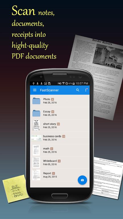 Fast Scanner Pro: PDF Doc Scan  poster 1