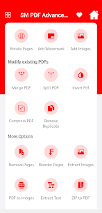 SM PDF Advance Tool For Android 3