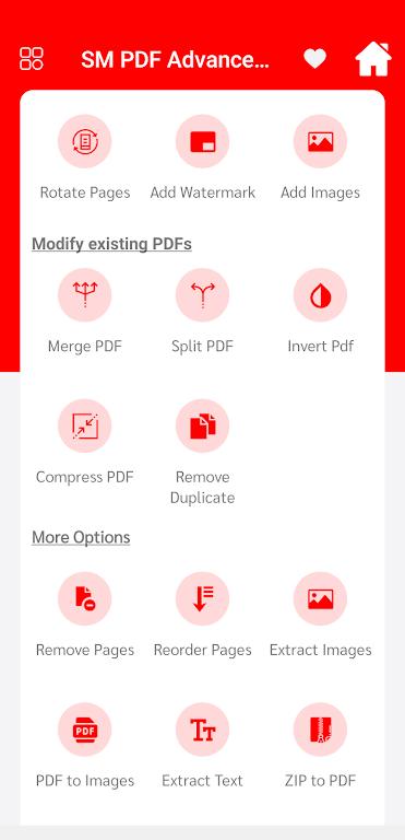 SM PDF Advance Tool  poster 2