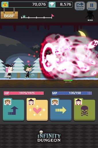 Infinity Dungeon: Offline RPG Adventure screenshots 12