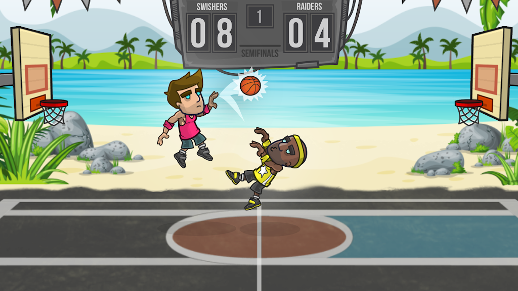 Basketball Battle poster 1