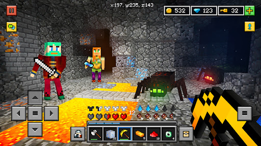 Block World 3D: (Exploration, Crafting, Building)  updownapk 1