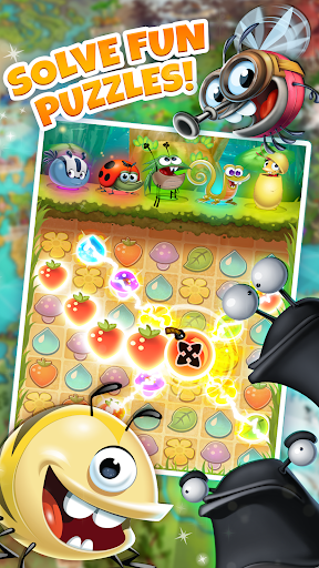 Best Fiends - Free Puzzle Game apkpoly screenshots 16