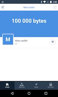 Obyte (formerly Byteball) 3.3.1 Screenshots 1