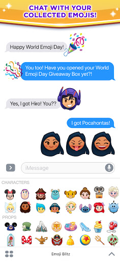Disney Emoji Blitz - Disney Match 3 Puzzle Games  screenshots 12