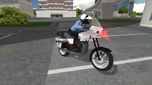 Police Motorbike Simulator 3D screenshots 7