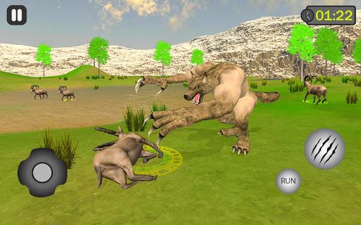 jungle werewolf monster rpg -bigfoot forest hunter screenshots 1